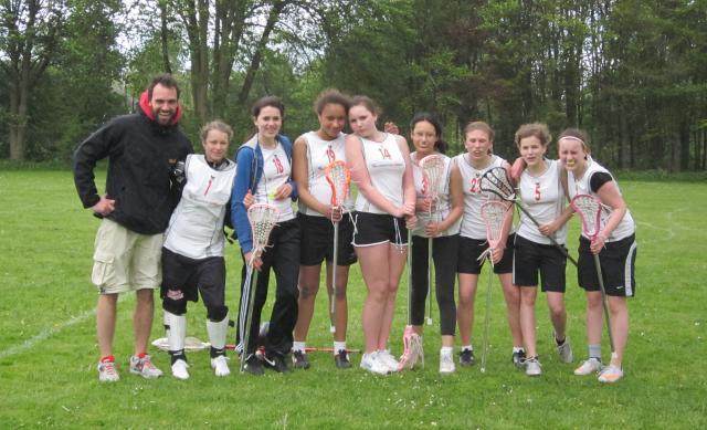 Unsere Lacrosse-Juniorinnen im Mai 2012